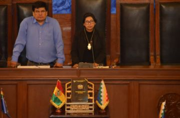 Senado elige nueva directiva a la cabeza de Eva Copa