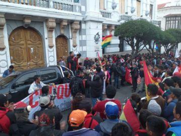 Comité de Movilizaciones conmina a Urquizu y a otras autoridades políticas a renunciar