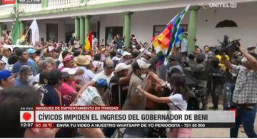 Beni: Gasificación en movilización cívica
