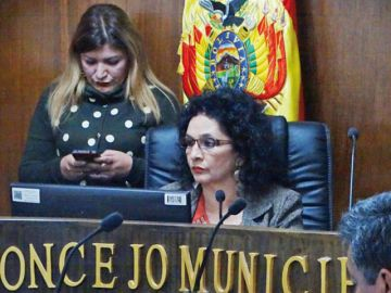 López logra votos del MAS para suceder a Arciénega