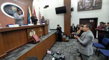 Ministro de Justicia posesiona a tres viceministros