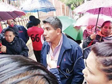 Maestros urbanos insisten en renuncia de Tancara
