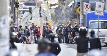 Más de 100 aprehendidos en una nueva jornada violenta en La Paz
