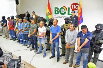 Arrestan a nueve venezolanos implicados en presuntos actos de sedición