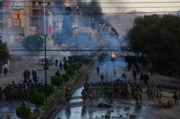 Fuerzas de seguridad dispersan a manifestantes que intentaban ingresar a Cochabamba
