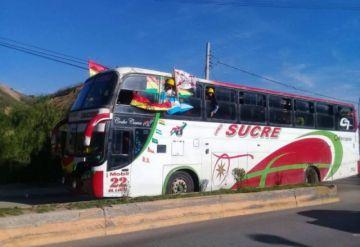 En vivo: La delegación de Chuquisaca ya está en Sucre