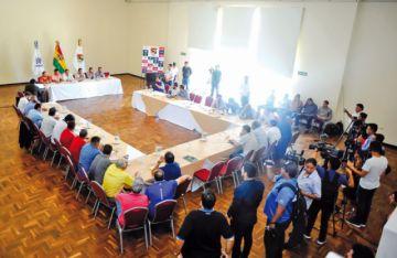 El fútbol boliviano continúa en suspenso