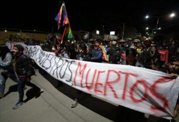 Cochabamba: Los cocaleros dan a Áñez 48 horas para que renuncie