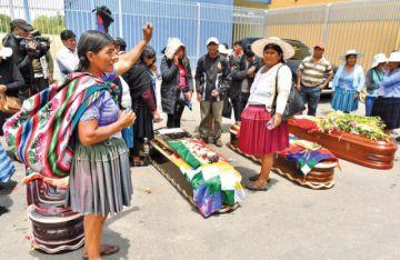 Protestas persisten en Sacaba y se eleva cifra de fallecidos