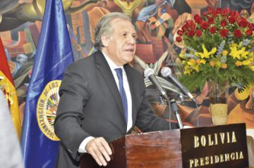 Almagro revela espías en auditoría de la OEA