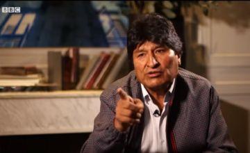 Vea la entrevista completa de Evo Morales con la cadena BBC