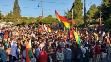 """En vivo: Se desarrolla el """"Cabildo de la Unidad"""" en Sucre"""