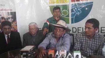 Diálogo entre cívicos y campesinos movilizados vuelve a punto cero