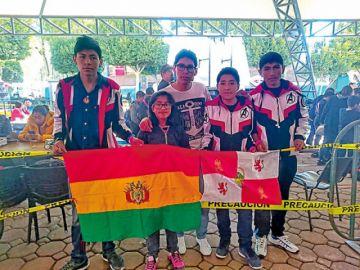 Club de Robótica Potosí gana dos oros y una plata