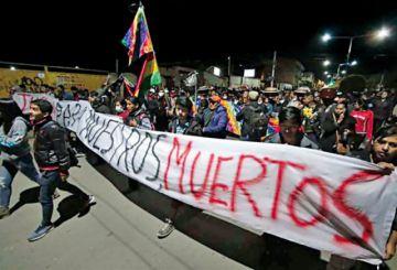Cocaleros del Chapare dan  ultimátum a Jeanine Áñez