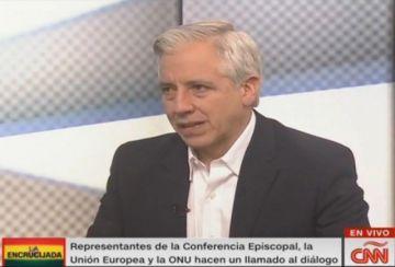 García Linera: Sigo siendo vicepresidente, solo que ahora en el exilio