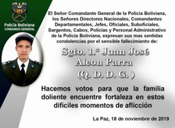 Muere sargento policial que fue golpeado por turba en El Alto
