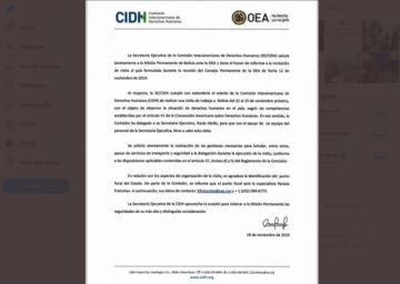Misión de la CIDH llega al país este viernes