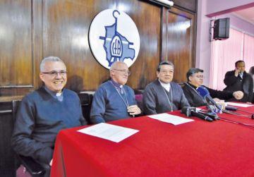 Diálogo: Iglesia avanza  con diferentes actores