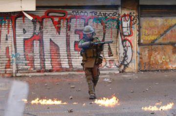 Chile: Crisis cumple un mes con graves pérdidas para el país