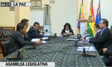Comisión de Constitución del Senado trata proyectos de ley para convocar a elecciones