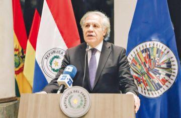 Ecuador reitera respaldo a candidatura de Almagro