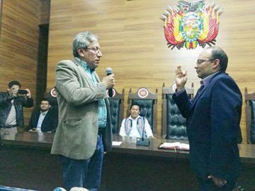 Nuevo presidente del TCP promete institucionalidad