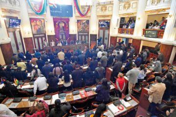 Legislativo ya debate ley  para nuevas elecciones
