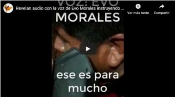Fiscalía abre investigación contra Evo Morales por terrorismo