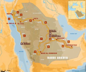 Dakar 2020, un desafío en Arabia