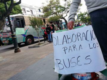 Abren campaña para buses afectados