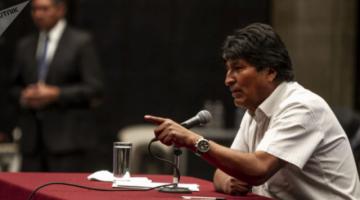 Fiscalía gestiona cooperación, vía Cancillería, para tomar declaración a Evo en México
