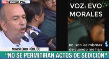 Gobierno presenta querella criminal contra Morales y Quintana