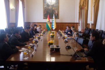 Gobierno rinde cuentas a misión oficial de la CIDH