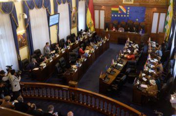 Reunión de la CIDH en La Paz se desarrolla con tensión por grupos confrontados [VIDEOS]