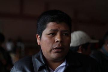 Franklin Gutiérrez pide unidad para dejar en el pasado una Bolivia fraccionada