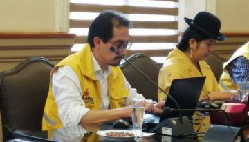 Fabián Siñani vuelve al Concejo Municipal de La Paz