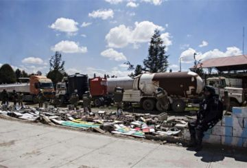 Suben a diez los fallecidos tras los choques en Senkata