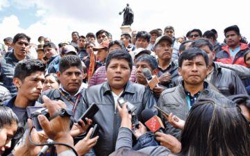 Gutiérrez pide al Gobierno abrogar la Ley de la Coca