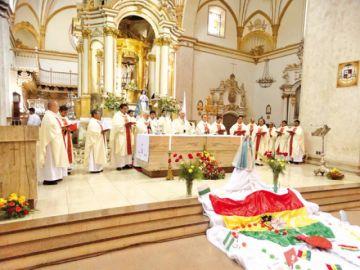 """Monseñor Juárez: """"Sucre  no es una ciudad racista"""""""