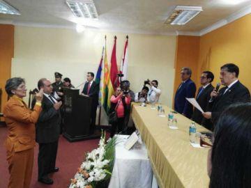 Posesionan a nuevos fiscales departamentales en Beni y Cochabamba