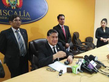 Fiscal General aclara a Alave y niega notificación azul de la Interpol contra Evo Morales