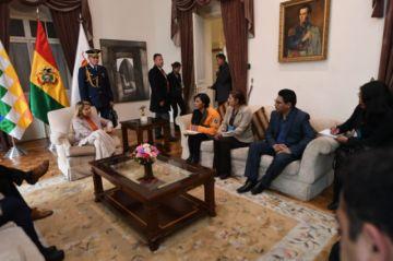 Chapetón pide ayuda a Áñez para El Alto