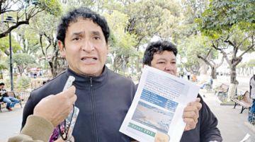 Yamparáez: Piden reactivar denuncia contra Alcalde