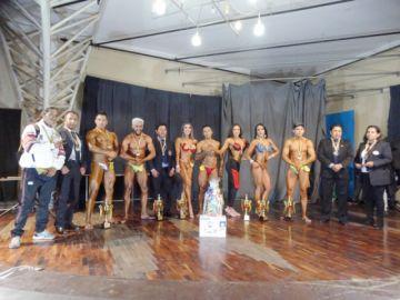 Culturistas cierran el año con el Clausura en La Paz