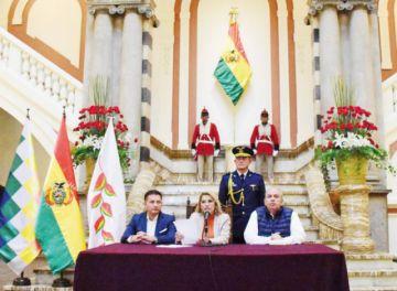 Áñez abroga decreto 4078 e insta a la reconciliación