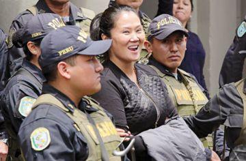 Keiko Fujimori a un paso de salir en libertad