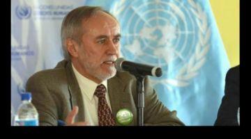"""Exrepresentante de la ONU advierte una """"ruptura profunda"""" del orden constitucional"""