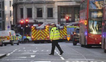 Policía abate al sospechoso de ataque terrorista en Londres