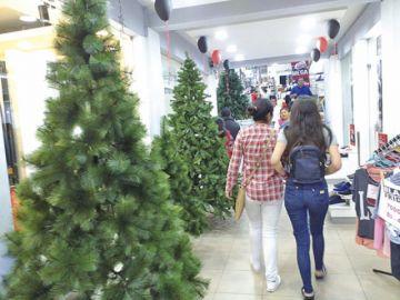 El espíritu de la Navidad se apropia de la capital